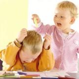 Gdy dziecko jest agresywne wobec innych, należy zdecydowanie zabrać je z tego miejsca i na boku spokojnie wyjaśnić, że bicie jest złe i że sprawia innym ból.