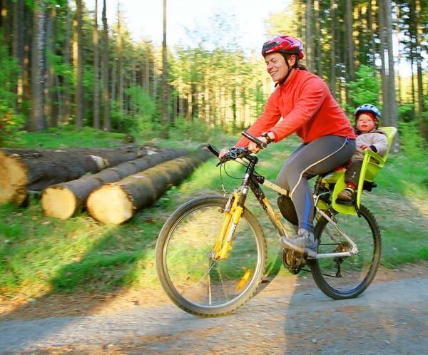 Fotelik rowerowy Od jakiego wieku jest odpowiedni dla dziecka? • eBobas pl -> Kuchnia Dla Dziecka Od Jakiego Wieku