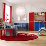 Pokój dziecka powinien być jasny. Intensywne kolory stosuj w dodatkach.
