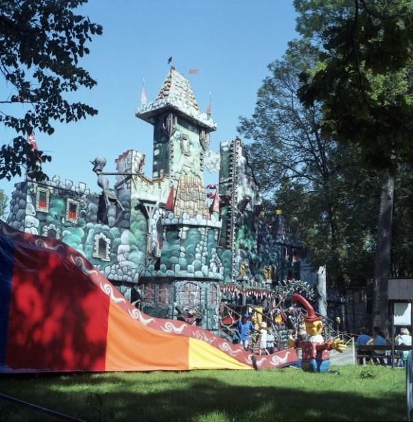 W Rabkolandzie są dwa sektory     dla małych dzieci oraz dla młodzieży i dorosłych.