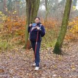 Monika Stefaniak, założycielka szkoły Nordic Walking Arena Ruchu, zajmuje się propagowaniem tego sportu wśród kobiet w ciąży i świeżo upieczonych mam.
