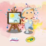 Ręką dziecka malowane, nieustający konkurs rysunkowy na eBobas.pl