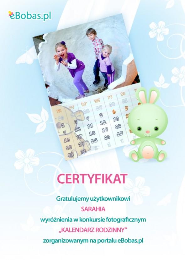 Kalendarz rodzinny - konkurs fotograficzny