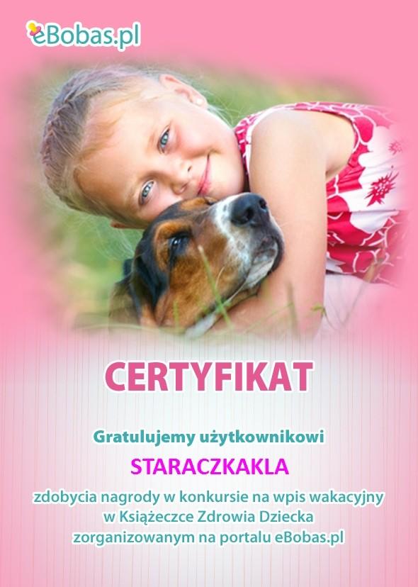 Wakacje z przyjacielem - konkurs w Książeczce Zdrowia Dziecka