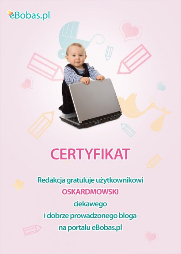 Nieustający konkurs blogowy na eBobas.pl
