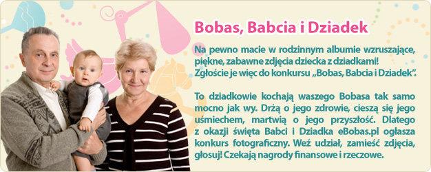Bobas, Babcia i Dziadek - konkurs fotograficzny