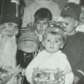 Gwiazdka 1973. Krzyż na czapce Dziadka Mroza to była prowokacja :)
