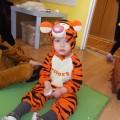 Mały tygrysek :)Pierwszy bal karnawałowy Marcelka :)