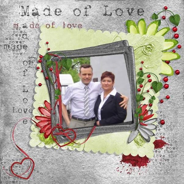 Walentynki 2011 12 lat małżeństwa, 16 lat znajomości, a nasze serca nadal są pełne gorącej miłości...