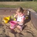 Jessica w piaskownicy