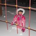 Wieczorne szaleństwa na śniegu :-)