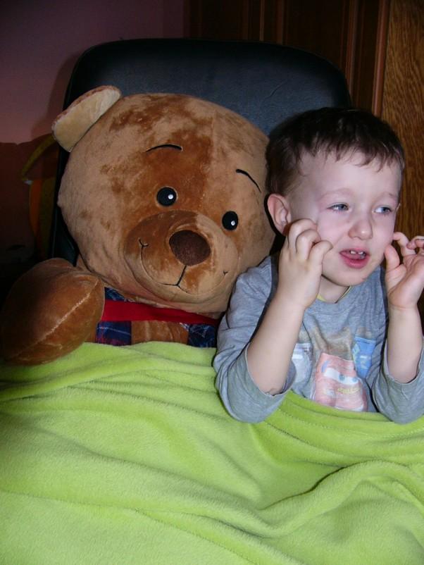 Ksawek i jego przyjaciel:) :)
