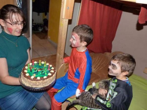 To już 6 urodziny Ksawka:) Połączyliśmy urodziny z balem przebierańców dla dzieci:)