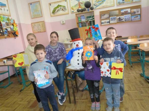 Ferie 2014 Wesoło było w szkole w czasie ferii:)