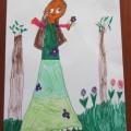 Karolinka 6 lat (nasza mała artystka)