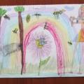 Kolejne arcydzieło naszej małej artystki Karolinki 6 lat:)