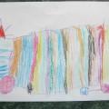 Tęczowy Tir Adrianka 4 latka