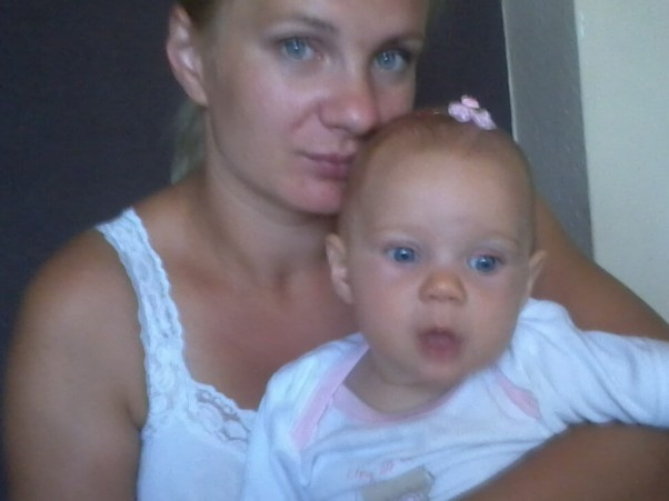 Mama i cureczka Jaka mama taka córka.