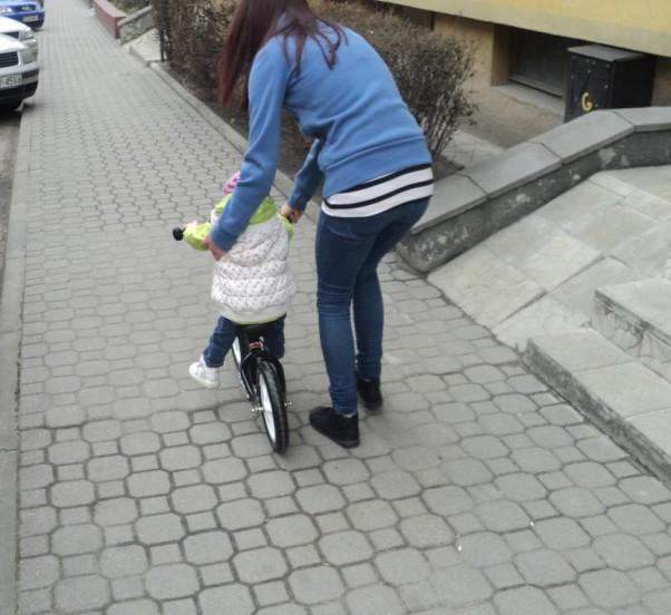 Zdjęcie zgłoszone na konkurs eBobas.pl Pierwsza jazda w miescie,prawie sama:)