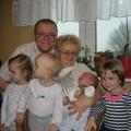 Janek z dziadkami i resztą ferajny :)