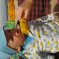 Gorąca gotowana kukurydza...:)