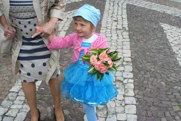 Zdjęcie zgłoszone na konkurs eBobas.pl 7 różowych róż na jubileusz:)