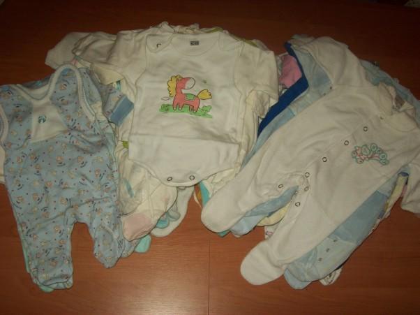 Malutkie ubranka też się znalazły. :))