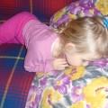 śpiąca Julka