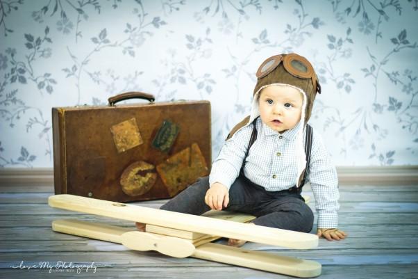 Przygoda małego pilota ;) Pilot Alanek wyrusza w świat ;)