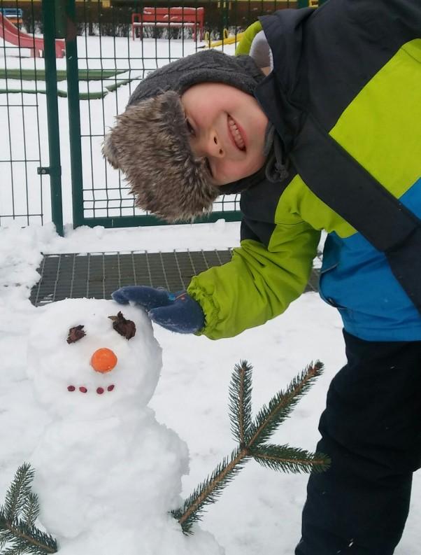 Moje zabawy Mój zimowy przyjaciel