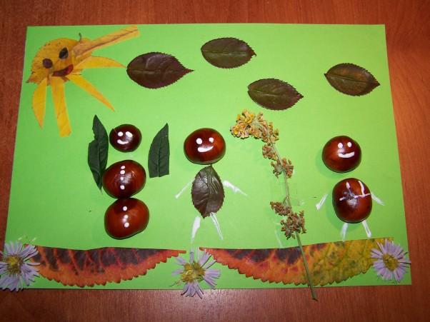 Już jesień.... Gorące lato szybko minęło\nJuż jesień na drzewa zagląda\nLecą liście, lecą kasztany\nDzieci szaleją…w morzu liści\nz kasztanowymi ludzikami:)\n