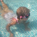 Noja syrenka:)Nikola 5 lat