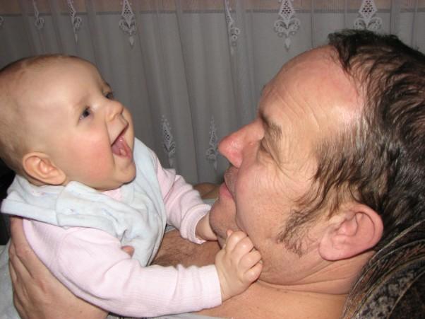 Śmiejmy się razem Dziadku jesteś kochany